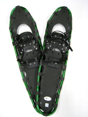 "Adventure 36"" Snowshoes (Good for 210-260 lbs) with Free Carry-Bag"