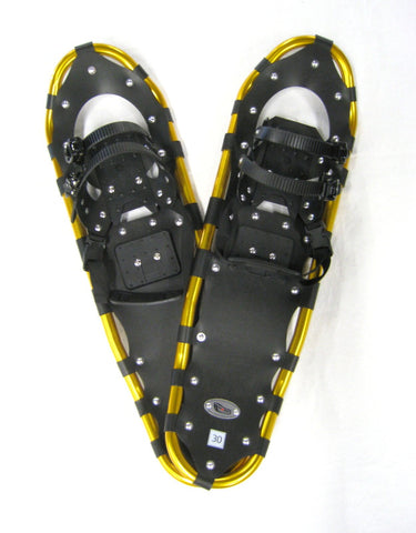 "Adventure 30"" Snowshoes (Good for 160-210 lbs) with Free Carry-Bag"