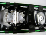 "Adventure 36"" Snowshoes Package - ON ORDER -  ARRIVING LATE MARCH - (Good for 210-260 lbs) with Green Poles & Black Carry-Bag"