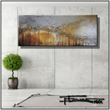 Abstract Limited Edition Painting, Modern Canvas Wall Art, Ready to Hang ENGAGING GRACE by ELOISExxx