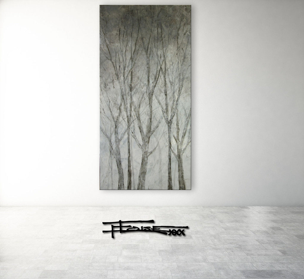TRANQUILITY IN THE TREES 1 - Textural Limited Edition