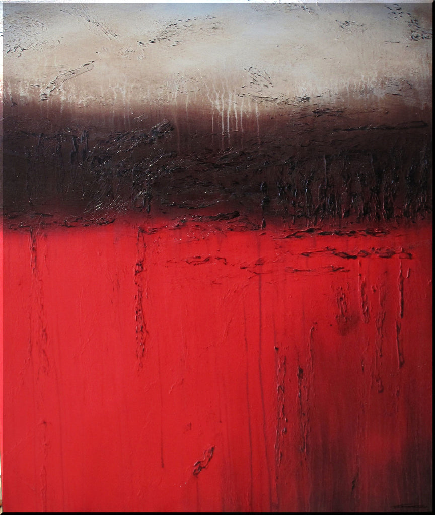 TUSCAN RED - Limited Edition - 36 x 30 x 1.5 inch