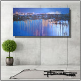 Modern Abstract Canvas Painting, Limited Edition, ELECTRIC CODE by ELOISExxx