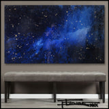 GALAXY OF LIGHT - Original Resin Painting