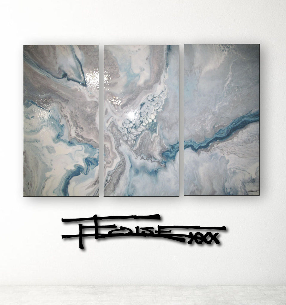 ICE DANCER - Resin Coated Limited Edition - Triptych