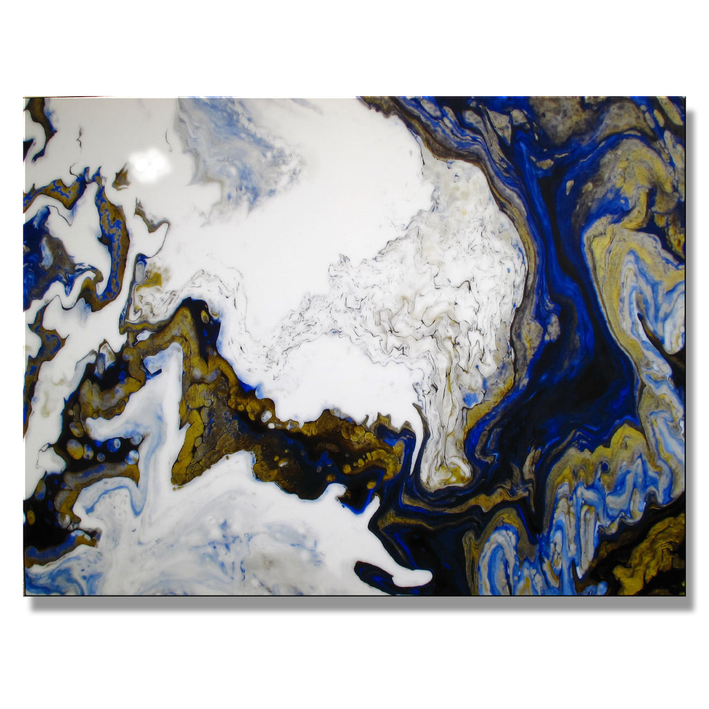 IMPERIAL GOLD - Limited Edition Resin - 48 x 36 x 1.5