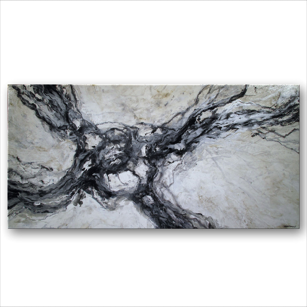 MINERAL AND MAZE - 60 X 30 X 1.5 inch - Limited Edition