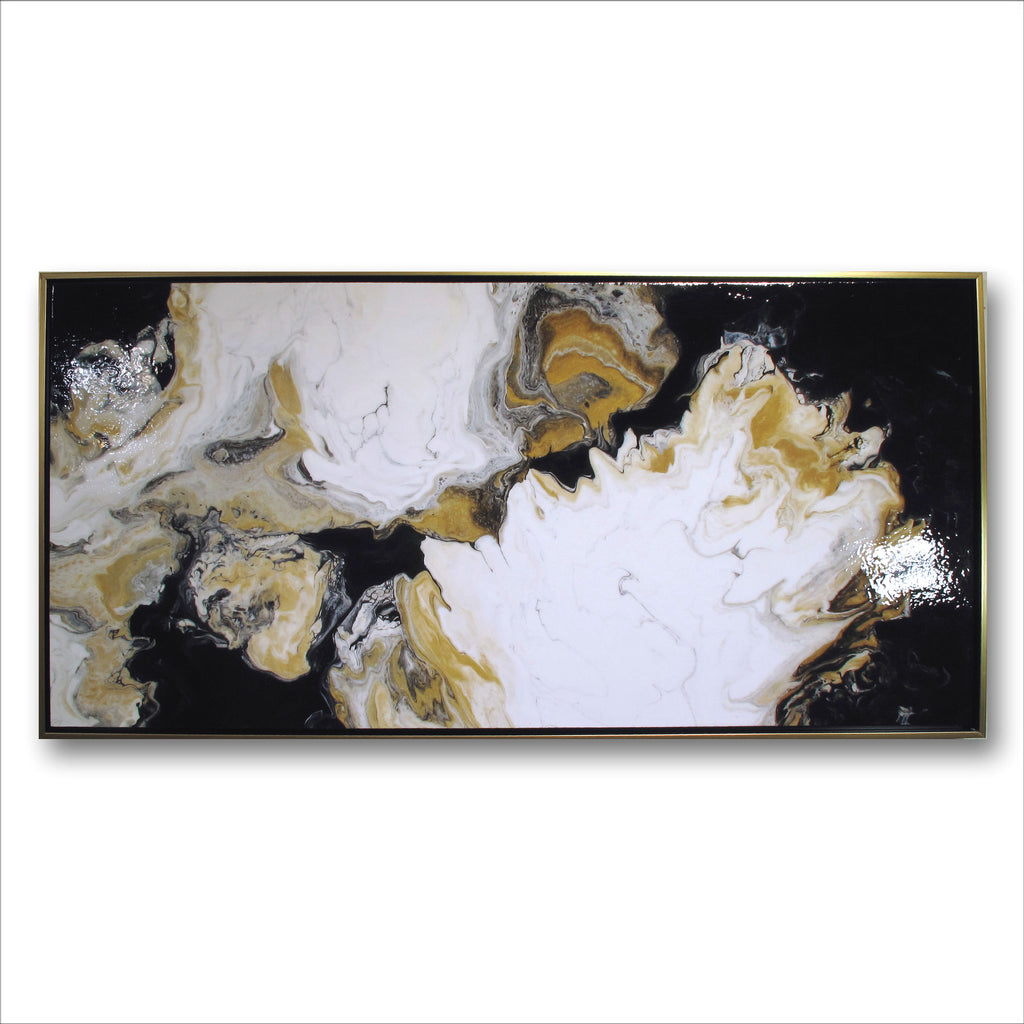 THE DANCE - Resin Coated Limited Edition in Canvas Floater Frame
