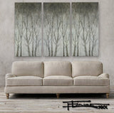 TRANQUILITY IN THE TREES - Diptych  - Textural Limited Edition