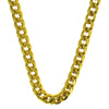 Gold 8MM Franco Chain Stainless Steel