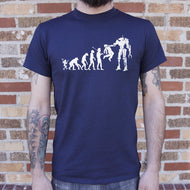 Evolution To Termination Technology T-Shirt (Mens)