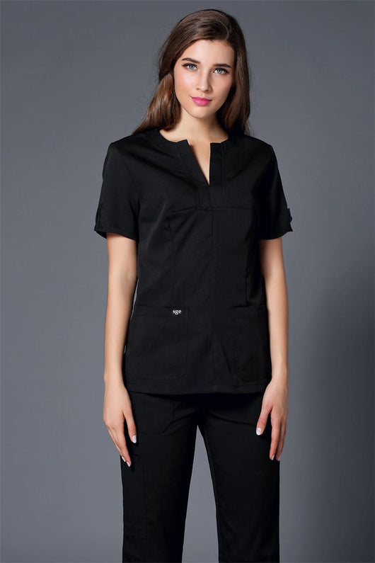 Medical  fashionable design slim fit uniform