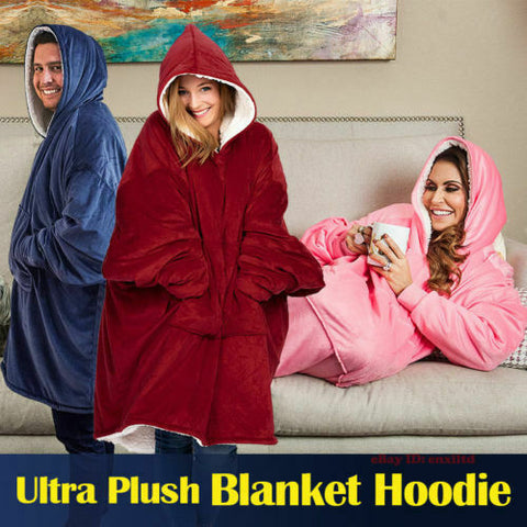 Adult Hooded TV Blanket