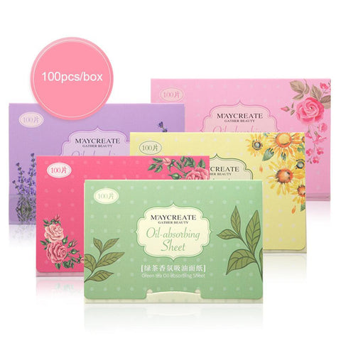 BellyLady 100 Pcs/box Face Oil Absorbing Paper