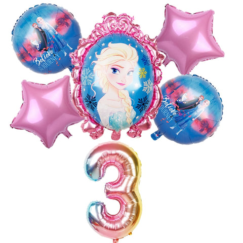 Disney Frozen Princess Helium Balloons