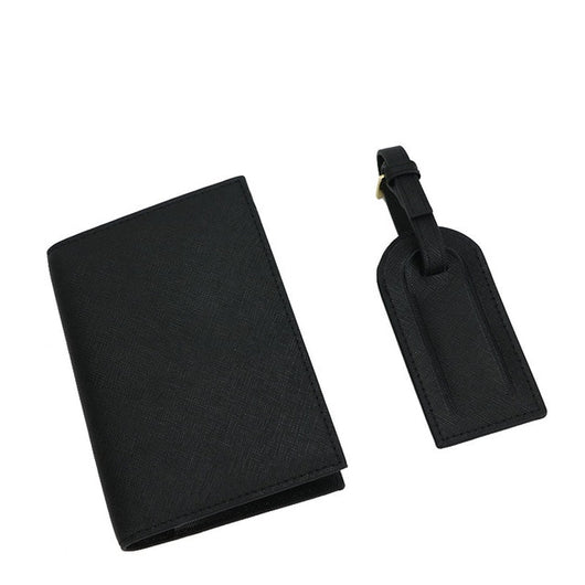 Leather Passport Cover Set