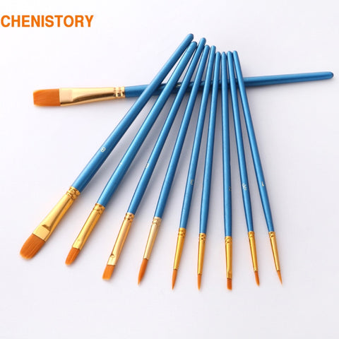 10 Pcs/Set paint brushes