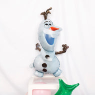 1 pc Frozen Olaf Foil Balloon