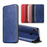 Magnetic Leather Flip Case