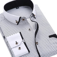 2019 Men Fashion Printed shirt