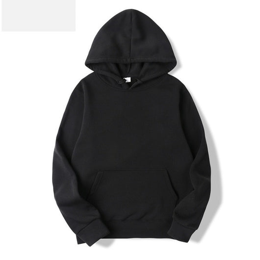 Solid Color Men Hoodies