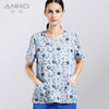 2016 nurses scrubs medical clothings for Coloured  lovely sheep  fabric with comfortable medical uniform in scrubs set