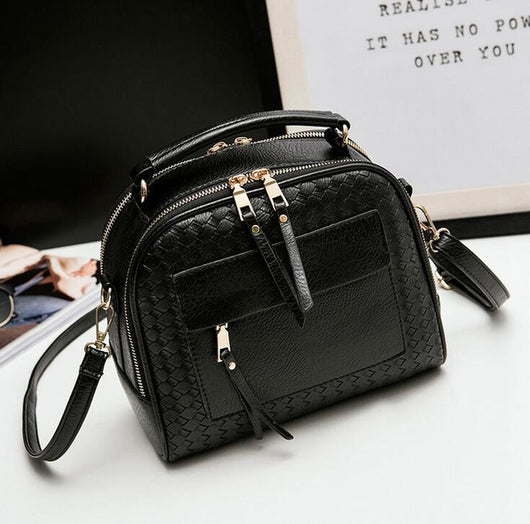 Vogue Star 2017 New Arrival Fashion Weave Women Small Shoulder Bag