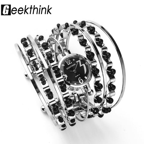 GEEKTHINK Bohemian Style Luxury Brand Quartz Watch Bracelet