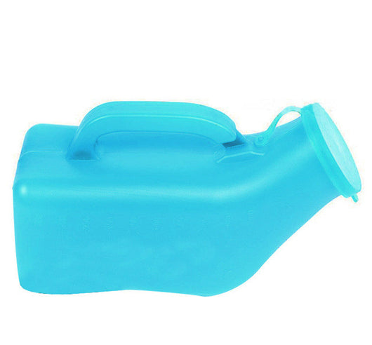 Portable Male Urinal Travel Car Bed Medical Patient Men Handle