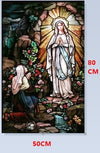 Christian Picture Window Decor