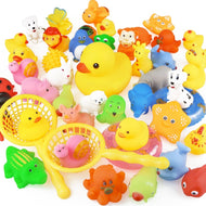 15PCS/Bag Bath Toy Animals