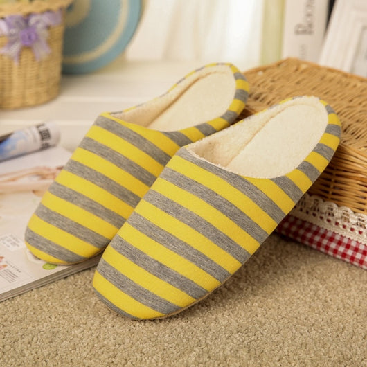 Woman Striped Slippers