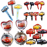 1 pc Racing Car Foil Balloons