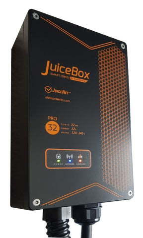 JuiceBox 32 - Single or 3 Phase 7.4kW to 22kW Type 2 NZ