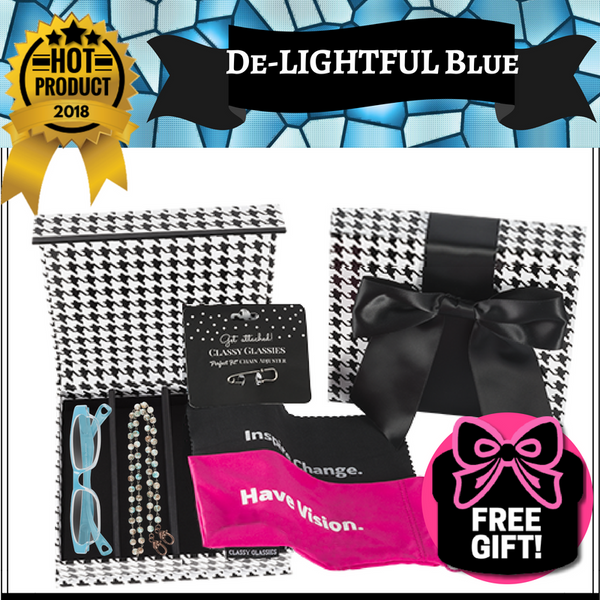 """De-LIGHTFUL Blue"" 6-Piece Set"