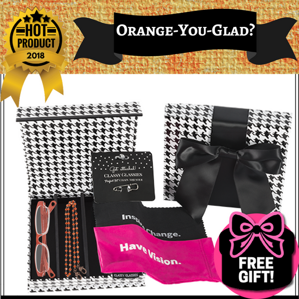 """Orange-You-Glad?"" 6-Piece Set"