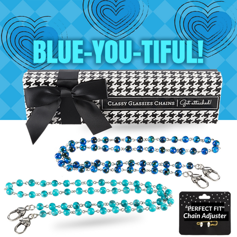"""Blue-You-Tiful"" Chain Set"