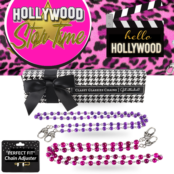 """Hello, Hollywood"" Chain Set"