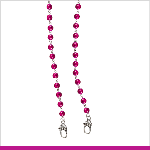 """Back to the Fuchsia"" Mask Chain"