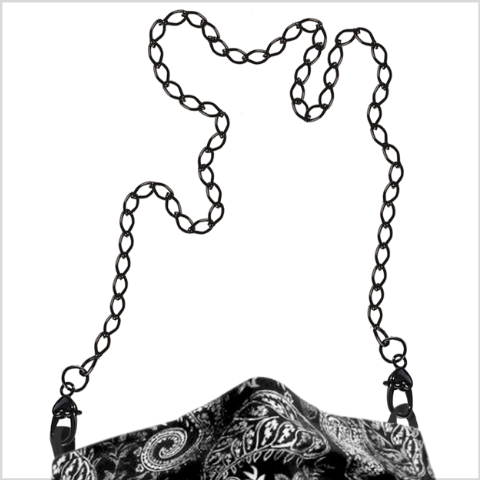 """Black Is Beautiful"" Mask Chain"