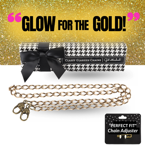 """Glow For The Gold!"" Single Chain"