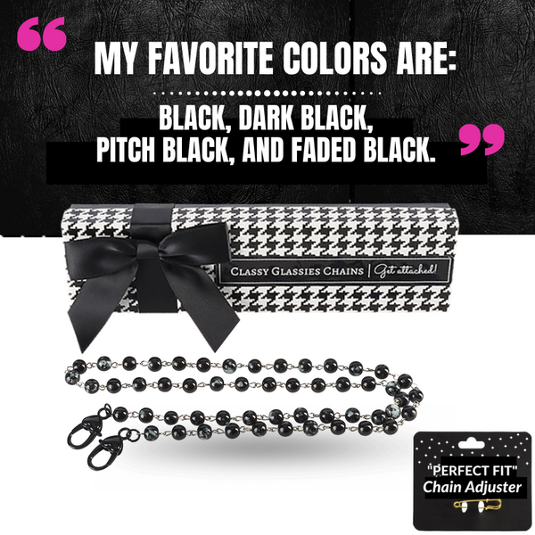 """Black Is My Favorite Color"" Single Chain"