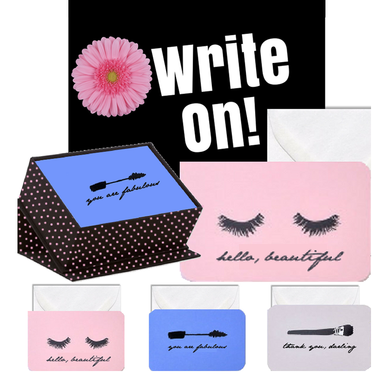 """Eye Love"" Classy Stationery Set in Keepsake Box"