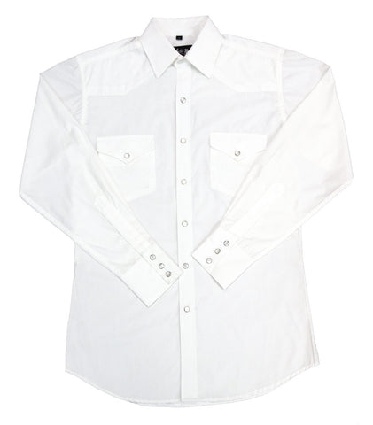 Mens Solid White<br> 111-1101XB