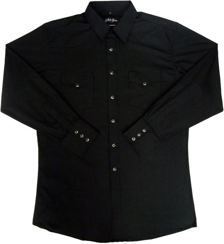 Mens Solid Black<br> 111-1102