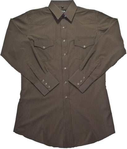 Mens Solid Chocolate<br> 111-1117