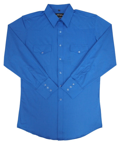 Mens Solid Royal<br> 111-1118X