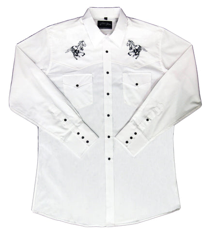 Mens Embroid Horse<br>111-1237