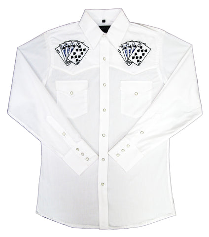 Mens Embroid <br>Royal Flush<br>111-1244
