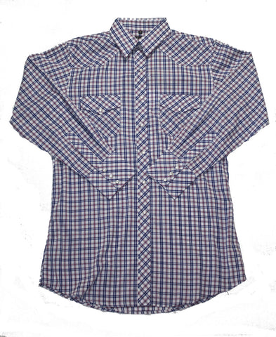 Mens Plaid<br>131-1128X